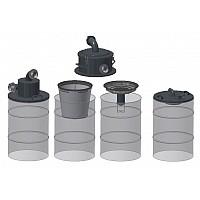 Adapter za sode / set  plovček za sesanje tekočine