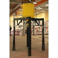 BIG-BAG podporna konstrukcija za 500l izločevalec odpadkov